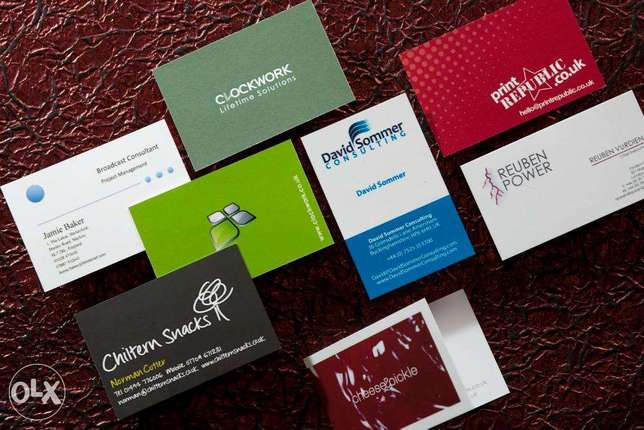 Business Cards and All Printing Items