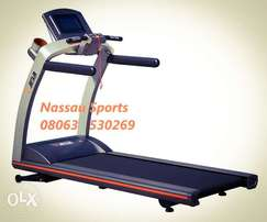 Deluxe 3.5HP Commercial Treadmill with TV, Music, WIFI, & Android