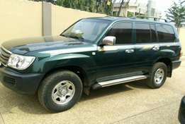 Land Cruiser for sale.