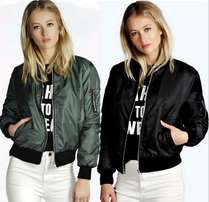 Ladies Lightweight Bomber Jackets
