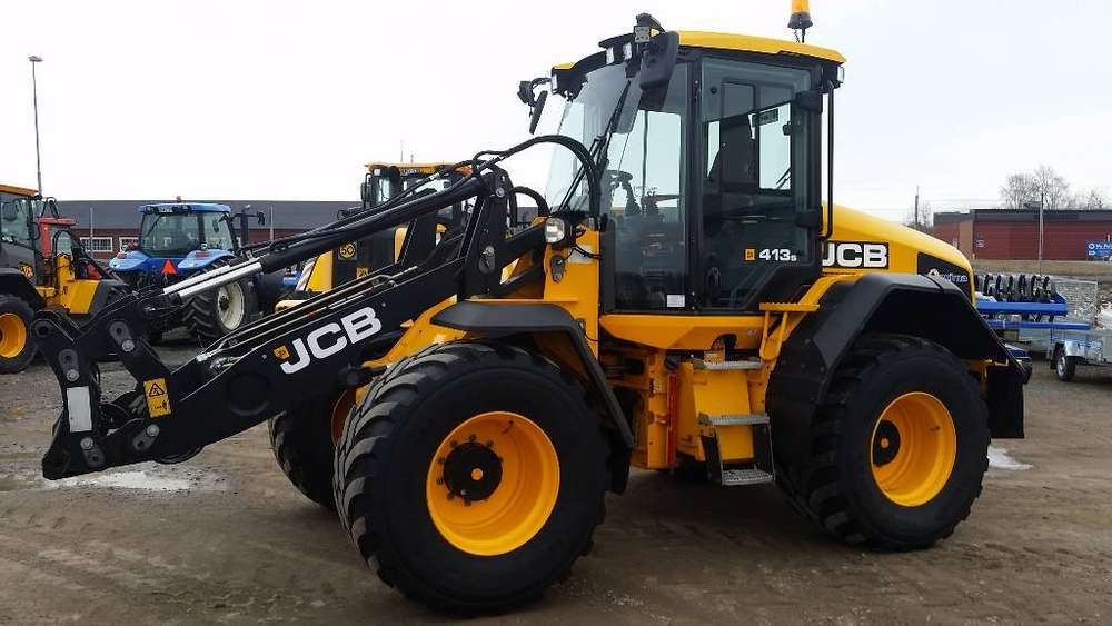 JCB 413s Highlift - 2016