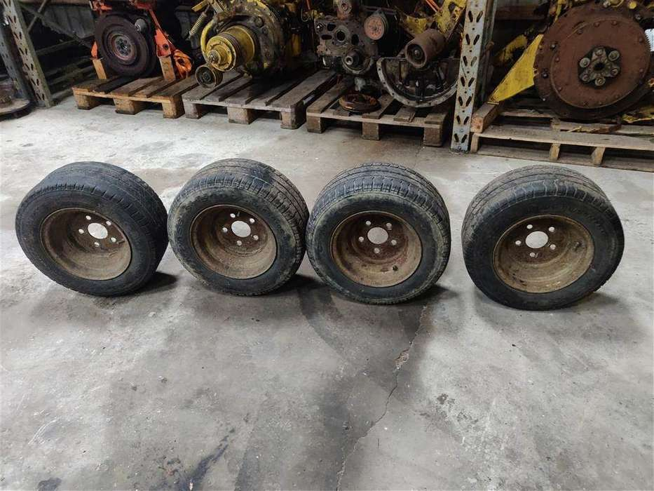4x Hjul 195/55r10c