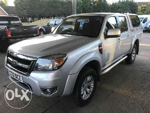 2011 Ford Ranger 2.5L TDCi THUNDER Double-Cab Pick-Up 4WD. Mombasa Island - image 8