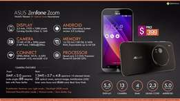 Brand New Sealed Asus Zenfon Zoom 4 64GB at 36500 with 1yr warranty