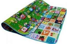 2 sided padded crawling and playmat