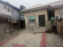 Renovated 2 bedroom flat Alone in compound all tiles at Iyana ipaja