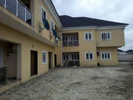 Super 2bedroom flat with federal light At GRA