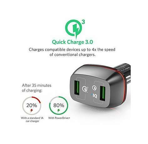 ANKER USB charger Powerdrive+. Quick Charge 3. Premium 2-Port USB Mombasa Island - image 2