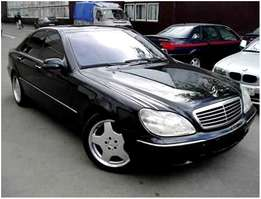 Stripping for parts Mercedes S500