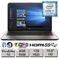Get a brand new 7th gen coi7 HP laptop with 8gb RAM & 1TB HARD DRIVE