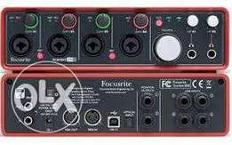 Focusrite - Scarlett 18i8 USB 2.0 Audio Interface