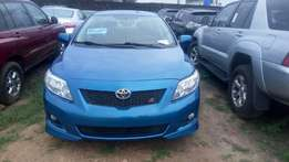 Tokunbo Toyota Corolla Sport, Dvd with Reverse Camera