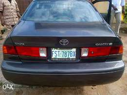 Clean Toyota Camry for sell 1999 model black colour