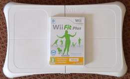 Wii fit board + Wii Fitplus Game (or swop)