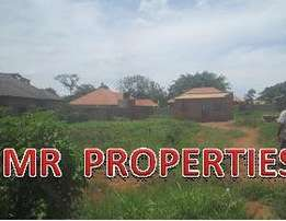 Prime 100 by 100ft plot for sale in Namugongo-Sonde at 60m