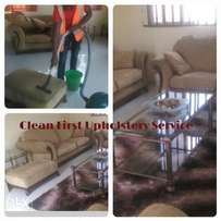 Domestic Upholstery cleaning service