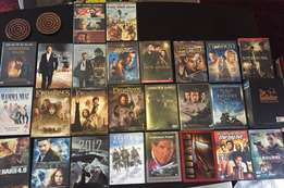 27 DVD movie collection