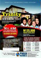 Buy A plot of land in a gated estate.