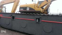 Swamp buggy 320CL caterpillar
