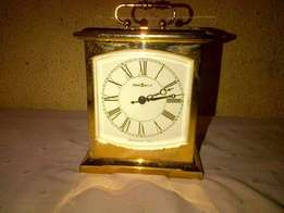 Howard Miller Carriage Clock Westminster Chime Brass Finish