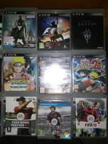 Ps3 games to sell or swap for some other nice games