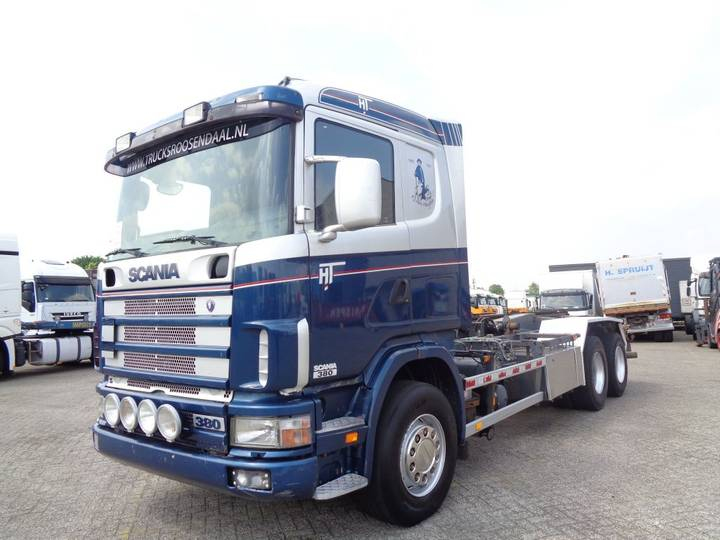 Scania 114G 380 + Manual + Chain system + PTO - 2001