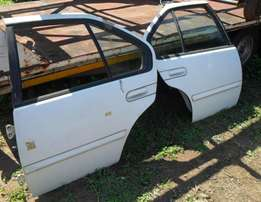 Maxima body spares. 1992 model. Spares as listed below