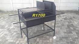 Bowl Braai manufactured out of 2mm mild steel