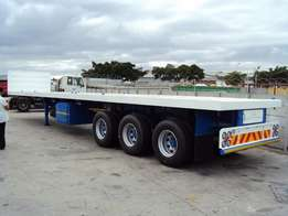 12 m flatbed transport from east london to JHB weekly