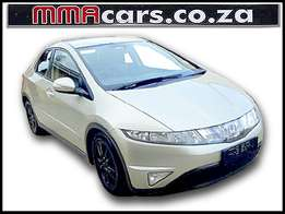 2008 HONDA CIVIC 2.2I-CDTI VXI 5 DOOR R119,890.00