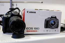 smart canon 100d with lens on sales
