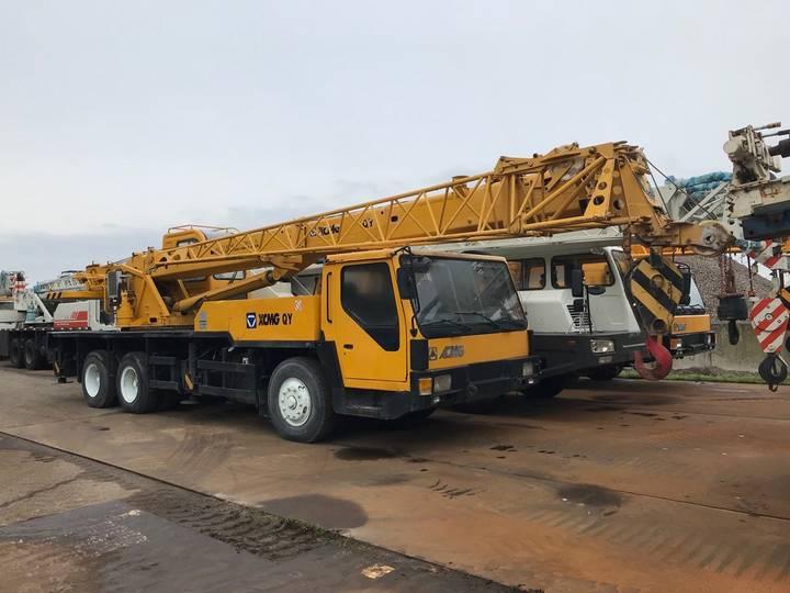 XCMG QY16K 16 Ton 6x4 Hydraulic Crane Truck - 2006