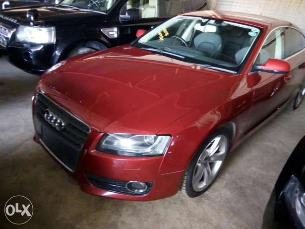 Audi A4 1.8T Sparkling Red Mombasa Island - image 1