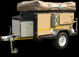 wildebeest executive off-road camping trailer