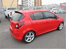 Used Red Opel Corsa