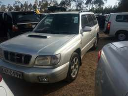 Very clean Subaru Forester turbo charged