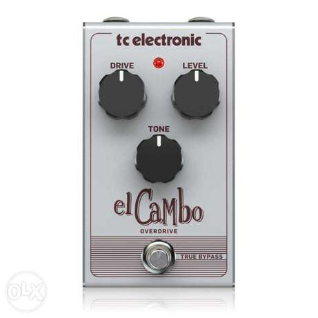 TC Electronic EL CAMBO OVERDRIVE Classic Tube Overdrive Pedal