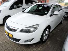 2011 OPEL ASTRA 1.6T SPORT 5dr 6 speed