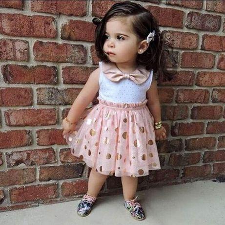 5f67810707 śliczna sukienka dla dziewczynki 2-3 latka nowa Wasilków - image 1