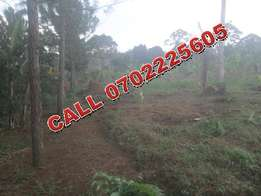 Affordable 2 and half acres for sale in Bukerere at 75m