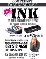 Ink cartridges and toners