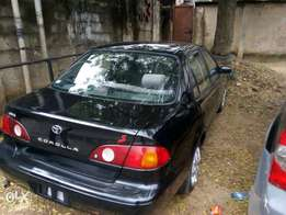 Toyota corolla 2001 model direct tokunbo