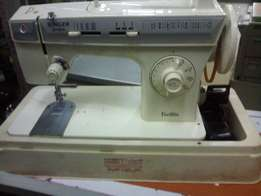 Electrical sewing machine.