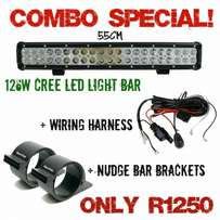 126W Cree led bar combo special