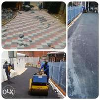 Tarred surfaces/ driveways and parking areas