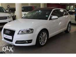 Audi a3 with panoramic roof finance arranged 4000pm