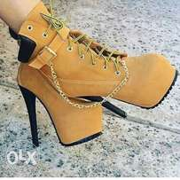 Timberland boots for ladies size 38