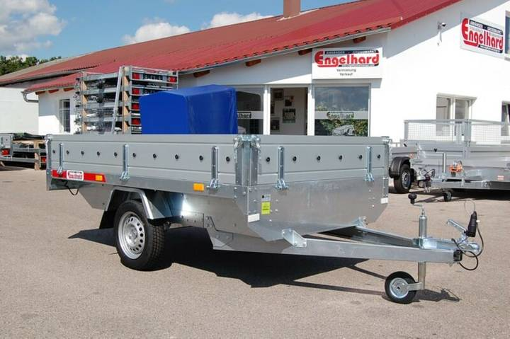 TEMA TR 2515 HL ALU - 750 kg ca. 254x154x30 cm