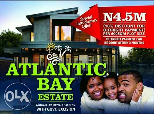 Ocean Front Estate (land). Cool! You Will Love It HERE. Waoo OFFER!!! Lagos Mainland - image 1