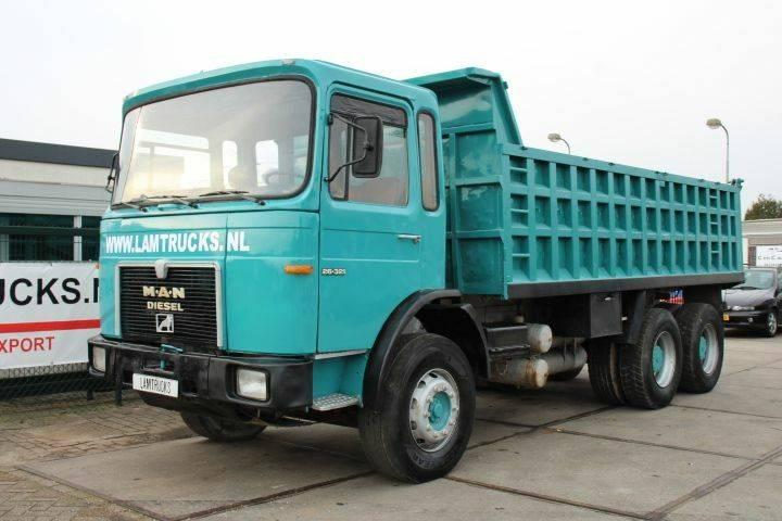 MAN 26.321 6X4 - 1985